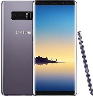 Samsung Galaxy Note 8 Dual SIM - 128GB, 6GB RAM, 4G LTE, Grey