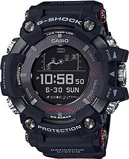 Casio G-SHOCK RANGEMAN Solar-Assisted GPS Navigation GPR-B1000-1JR Mens