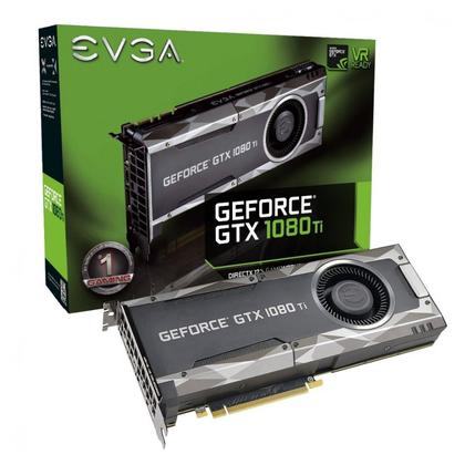 EVGA GeForce GTX 1080 Ti GAMING, 11GB GDDR5X, DX12 OSD Support (PXOC) Graphics Card 11G-P4-5390-KR