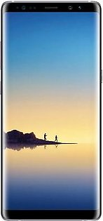 Samsung Galaxy Note 8 Dual SIM - 128GB, 6GB RAM, 4G LTE, Black