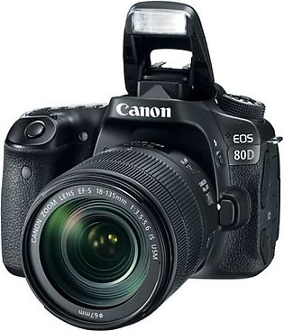 CANON EOS 80D 18-135 IS STM