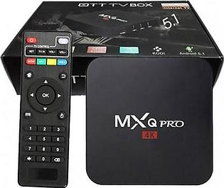 Android TV Box Quad Core 2.0GHZ 1GB plus 8GB MXQ PRO 4K