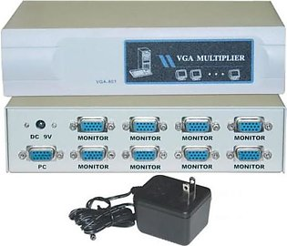 VGA Splitter 8 Port 180 MHz