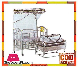 Baolimei Metal Baby Cradle and Cot 257