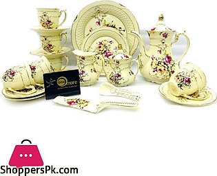 One More French Palace  Tea Set 6 Person 31 Pcs