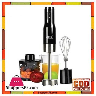 ANEX 133 Hand Blender With Beater & Chopper