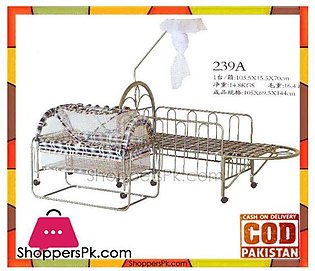 Baolimei Metal Baby Cradle and Cot 239-A