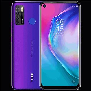 Tecno Camon 15 (4G, 4GB, 64GB,Fascinating Purple) With Official Warranty