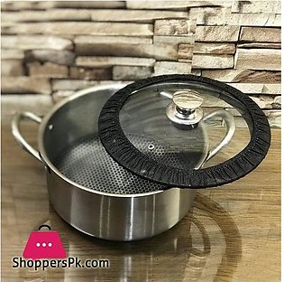 PYREX FRANCE STAINLESS STEEL COOKING POT 26 – CM