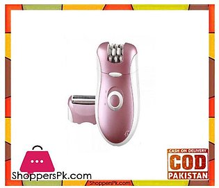 Kemei  2 In 1 Automatic Shaver & Epilator For Women – Purple – Km-2068