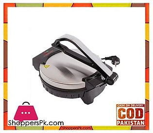 Jack Pot Roti Maker JP-39 – 1200W – Silver & Black