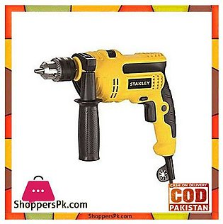 Stanley Stdh6513 650W 13Mm Percussion Drill-Yellow & Black