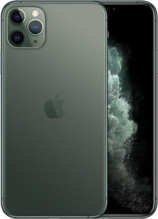 Apple iPhone 11 Pro Max (4G, 64GB, Green) – PTA Approved