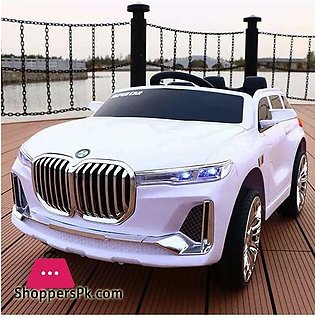 BMW X7 Kids Ride on Car Big SUV Electric Ride on Car with Swing & Remote Cont...