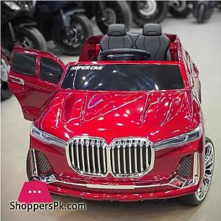 BMW X7 Kids Ride on Car Big SUV Electric Ride on Car with Swing & Remote Contro…