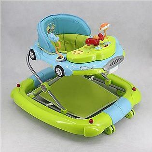 WALKER WITH ROCKER BLUE GREEN T1086H Babyace 2 IN 1 Multi-Function Baby Walker …