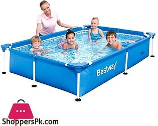 Bestway Steel Pro Inflatable Squared Swimming Pool-56424