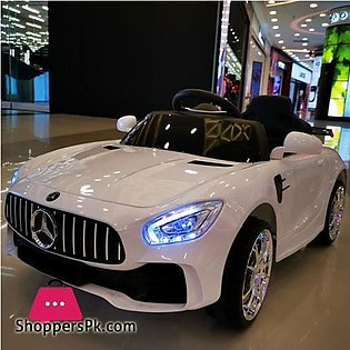 Mercedes DLS07 Electric Ride On Toy Car For Kids Metalic Paint Color