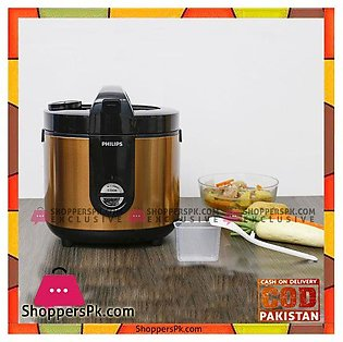 Philips 2 liter rice cooker HD3132  68 Gold