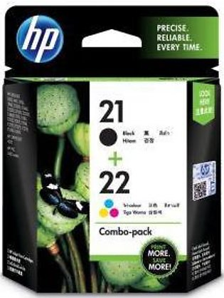 HP Ink Cartridge 21/22 Combo Pack