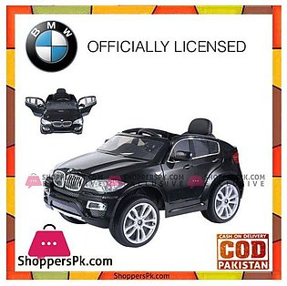 BMW X6 Kids Ride on Car 12v Electric Battery Children Remote Control Toys RC Car