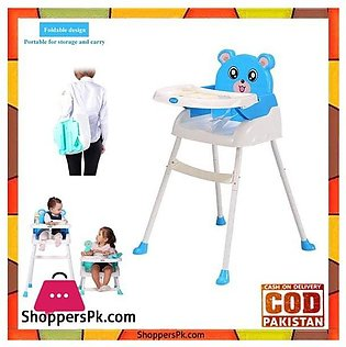 4 in1 Baby High Chair Convertible Toddler Table Seat Booster Infant Feeding Cha…