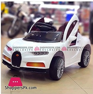 Bugatti Chiron Kids Battery Operated Ride On Car with Remote Control