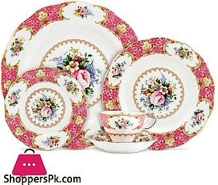 Royal Albert – Lady Carlyle Dinner Set – 8 Person