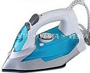 Geepas Gsi-7801 Cordless Ceramic Steam Iron Blue & White