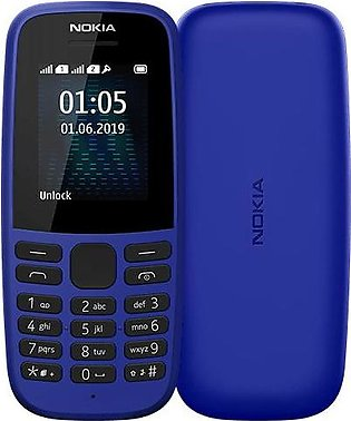 Nokia 105 2019 (2019) Blue With 1 Year Official Warranty