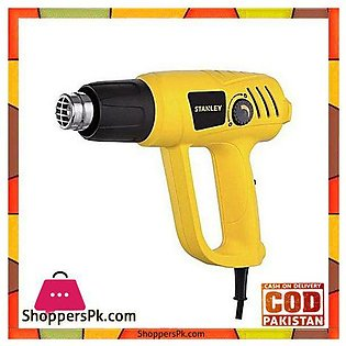 Stanley Sthx2000 2000W Variable Speed Heat Gun-Yellow