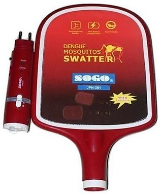 Sogo Rechargeable Electric Insect & Mosquito Killer Racket