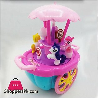 Electronic Sweet Car with Lights and Music 0783B
