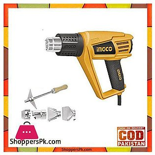 Ingco 2000W Heat Gun With Accessories