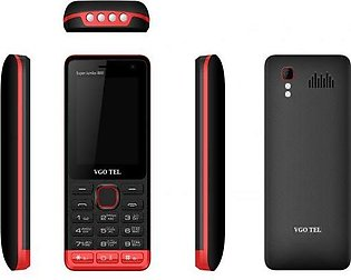 VGO TEL i800 Black Red with Official Warranty