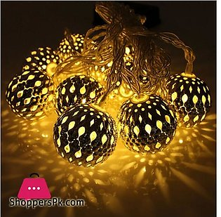 Fairy Ball LED String Lights Outdoor Decoration