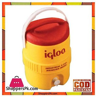 IGloo 400 Series Cooler 2 Gallon Red Yellow #00421