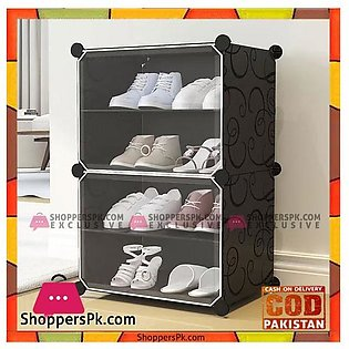 6Tiers Storage Shelf Simple Wardrobe Shoe Rack Organizer