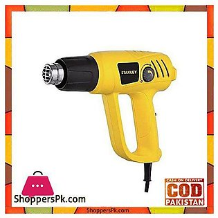 Stanley Sthx2000 2000W Variable Speed Heat Gun-Yellow & Black