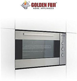 Built In 90 Cm Multi Function Electric Oven 100 L Capacity Silver ha219