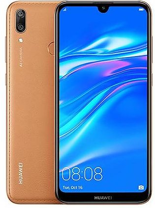 Huawei Y7 Prime 2019 Dual Sim (4G, 3GB, 64GB Brown)With 1 Year Official Warranty