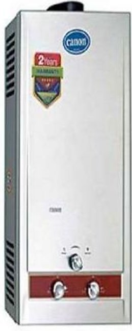 Canon Instant Geyser Gas 10Ltr SS Panel
