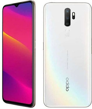 Oppo A5 2020 Dual Sim (4G, 3GB RAM, 64Gb ROM, Dazzling White) With 1 Year Off...