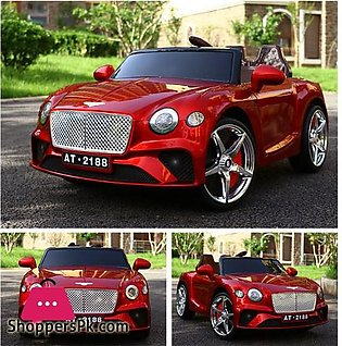 Bentley New Continental GT – Kids Ride On Car Battery Powered RC Remote Control…