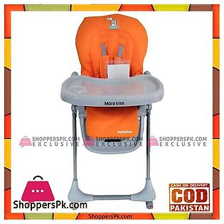 Morekiss Baby Feeding High Chair with Wheel