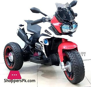 Kid Ride On 3 Wheeler Electronic Motorbike Hand Accelerator NEL R1600