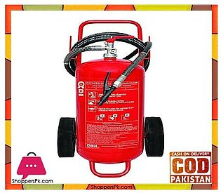 Mobiak Fire Extinguisher Trolley Type – 50KG DCP