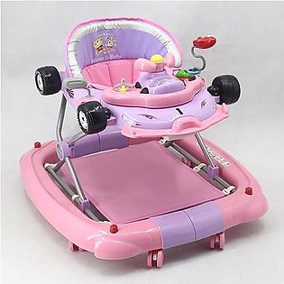 WALKER WITH ROCKER PINK PURPLE T1085H Babyace 2 IN 1 Multi-Function Baby Walker…