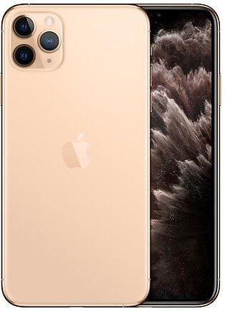 Apple iPhone 11 Pro Max (4G, 256GB, Gold) – Non PTA