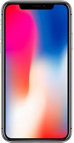Apple iPhone X (4G, 64GB, Silver) – Non PTA